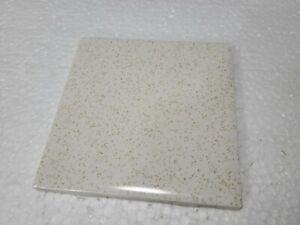Harvest Gold Dust Ceramic Tile Speckled Dots Specs Vintage Mid Century Modern