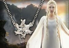 Hobbit Galadriel Ring Pendant Nenya Sterling Silver Authentic Noble Collection