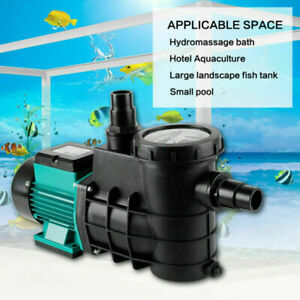 Schwimmbadpumpe Umwälzpumpe Poolpumpe elektronik Grün 5000/8000/14500L/h Pumpe
