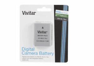 Vivitar EN-EL14 Rechargable Li-ion Battery for P7000,P7100,D3100,D5100