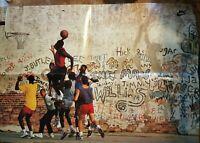 Michael Jordan Wheaties Promotional Poster Flight Club RARE 16 x 23 PC