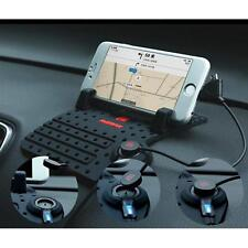 Car Holder Dashboard Stand USB Mount Charger Cradle Non-Slip Pad For iPhone GPS