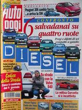 Auto Oggi n°1 1997 Mitica Corvette - Volvo S40 - Peugeot 306 [Q201]