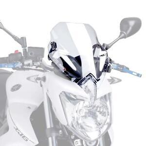 Puig Sport Screen Windshield Deflector Clear Yamaha XJ6 2009 - 2016