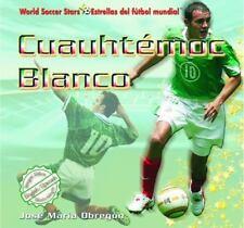 Cuauhtemoc Blanco (World Soccer Stars / Estrellas Del Futbol Mundial)-ExLibrary