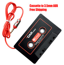 New Audio Car Cassette Tape Adapter 3.5mm Aux Cable For iPhone iPod Android Mp3