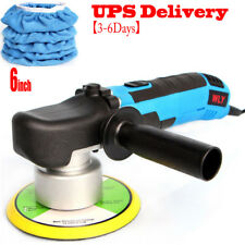 "680W Electric Car Polisher 6"" Sponge Pad Dual Action Orbital Buffer Waxer Sander"