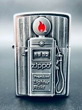 Zippo 3D 1932 Premium Lighter Fluid Fuel Station (Very Rare)