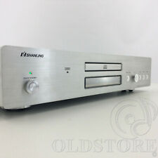►SHANLING CD A10T◄TUBE CD PLAYER LETTORE A VALVOLE SILVER HIGH END MADE IN CHINA