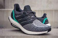 size 40 44541 df840 Adidas Ultra Boost 2.0 Gris choque Menta 11.5 Reino Unido AQ5931 Para  hombre Zapatillas Correr 11