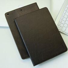 Luxury Leder Cover für Apple iPad Air 1 Schutz Hülle Tasche Tablet Case schwarz