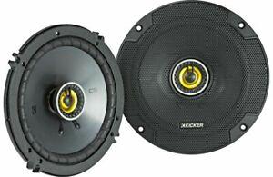 "Kicker CS Series 6.5"" 2-Way 100W RMS Speakers CSC65 - Pair (Ships as 46CSC654)"