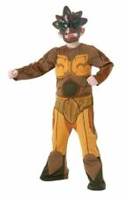 7-8 years Gormiti Lords of Nature Costume Nick Lord of the Earth Tree Superhero