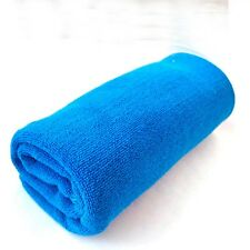Water Drying Blue Absorbent Polishing Car Cleaning Towel Microfiber Cloth