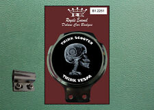 ROYALE CLASSIC CAR BADGE & BAR Clip PIAGGIO pensare mod B1.2251