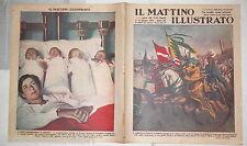 1937 Carosello storico di Napoli Amedeo VI campanacci Taranto Francobolli guerra