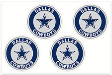 (4) Dallas Cowboys NFL Decals / Yeti Stickers *Free Shipping
