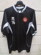 Maillot F.C LORIENT porté n°16 goal AUDARD Errea training shirt entrainement XL