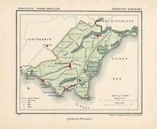 Antique Map-NETHERLANDS-TOWN PLAN-RANSDORP-NOORD HOLLAND-Kuyper-Kuijper-1865