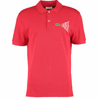 New Lacoste Mens Polo Shirt Size XXL 7 Regular Fit Red limited edition BNWT rare