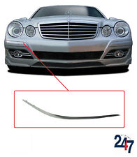 NEW MERCEDES BENZ MB E W211 06-09 FRONT BUMPER MOULDING CHROME TRIM RIGHT O/S