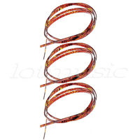 3 Pcs 5 Feet Flame Celluloid Acoustic Classic Guitar 6 x 1.5mm Thick Binding