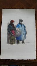 Original Theophile-Alexandre Steinlen Limited Edition Signed Color Lithograph