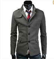 Mens Stylish Slim Fit Jackets Stylish Business Casual Blazer Jacket Suit Coats