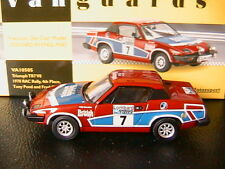 TRIUMPH TR7 V8 #7 1978 RAC RALLY 4TH PLACE POND GALLAGHER VANGUARDS VA10505 1/43