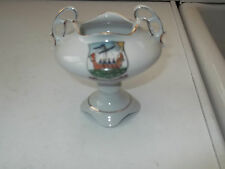 CRESTED CHINA TROPHY CUP   CRESTED  NORTH BERWICK  MAKER NOT READABLE