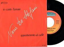 NORIS DE STEFANI disco 45 giri STAMPA ITALIANA Io canto l'amore 1984