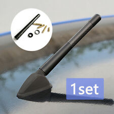 1 X Universal Car Antenna Carbon Fiber Radio Fm Antena Black Kit Screw 47 Inch Fits 2005 Kia Amanti