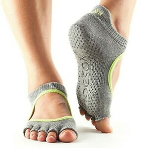 Toesox Women's Half Toe Grip Non-Slip for Ballet, Yoga, Pilates, Item C52