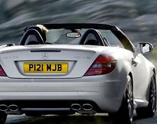P121 MJB Personalised Registration Cherished Number Plate
