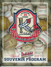 Giovanni Soto, Cleveland Indians - autographed Kinston Indians program