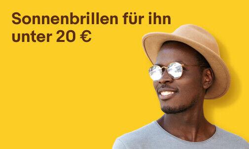 Sonnenbrillen für ihn unter 20 €