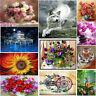 5D Diamond Painting Flower Animals Embroidery Cross Stitch DIY Crafts Home Decor