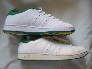 Lonsdale Leyton Herren Leder Schuhe Gr 41 B-Ware mit Farbfehler Sohle neu