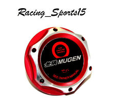 HONDA /ACURA JDM MUGEN RED BILLET ENGINE OIL CAP CIVIC ACCORD S2000 SI INTEGRA