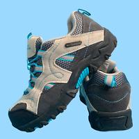 Mountain Warehouse Boys Womens Shoes Size 3 Grey Trekking Waterproof Boots EU 35