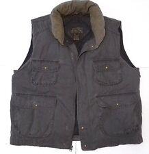 EDDIE BAUER Sportsman📷Outdooors HIKER🦌Goose Down Puffer Vest quilted liner👉XL