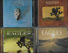 EAGLES 5 GREAT CDS THEIR GREATEST HITS THE VERY BEST OF LONG ROAD OUT OF EDEN