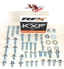 RFX Track Pack Pernos Tuerca & Arandela KITS KAWASAKI KX125 KX250 2000-17