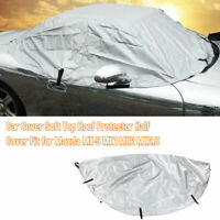 Car Cover Soft Top Roof Protector Half Cover Fit for Mazda MX-5 MK1 MK2 Z7P4