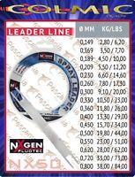 Monofilo terminale Colmic NXgen Fluotec Spray Leader mt.50