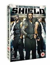 WWE The Destruction Of The Shield [3 DVDs] NEU Roman Reigns, Dean Ambrose DVD