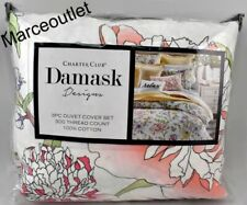 Charter Club Damask Designs Blossom Floral FULL / QUEEN Duvet & Shams Set Multi