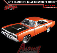 GMP 18807 1:18 DOM'S 1970 PLYMOUTH ROAD RUNNER FAST AND FURIOUS 7 LE 1,512
