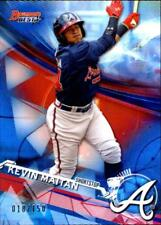 2017 Bowman's Best Top Prospects Blue Refractor #TP13 Kevin Maitan RC /150