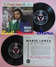 LP 45 7'' MARIO LANZA drink Serenade I'll walk with god Gaudeamus RCA cd mc dvd